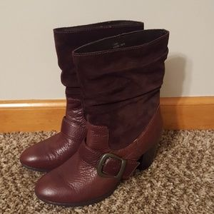 BRAND NEW b.o.c leather boots!